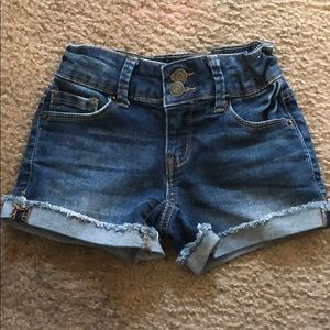 Mudd blue jean shorts